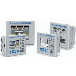 "Allen-Bradley 2711P-T6C20D8 Operator Interface, 5.7"" Color Display, Touch Screen, DC Power"