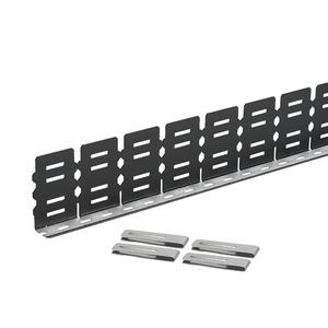 "Panduit SD3EMI EMI Noise Shield for 3"" High Panduit Wiring Duct, (2) 3' Sections, Clips, Paste"
