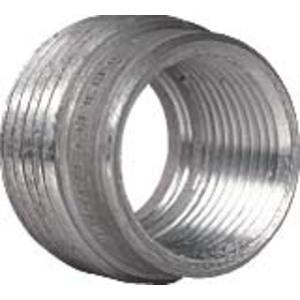 """Hubbell-Killark R-63 Reducing Bushing, Threaded, 2"""" x 1"""", Aluminum"""
