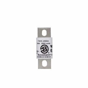 Eaton/Bussmann Series FWX-175A 175 Amp North American Style Stud Mount High Speed Fuse, 250V