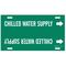 4024-H 4024-H CHILLED WATER SUP/GRN/STY