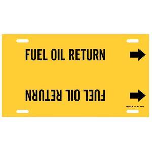 4064-H 4064-H FUEL OIL RETURN YEL/BLK ST
