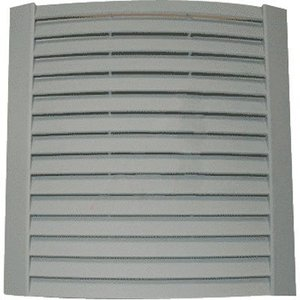 nVent Hoffman 10113001SP AC Filter Grille, Type: Narrow Genesis, Gray, Non-Metallic
