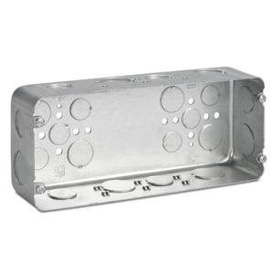 Steel City H4BD-3/4-1 4 GANG DEEP BOX, 1IN & 3/4IN KO'S