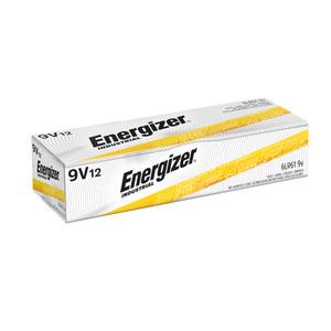 Energizer EN22 Alkaline Battery, 9 Volt, 600 mAh at 25 mA