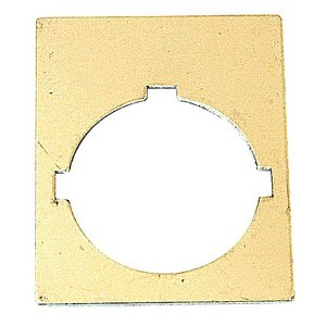 ABB SK-615-640-1 30mm Blank L/p,2-line,50mm H