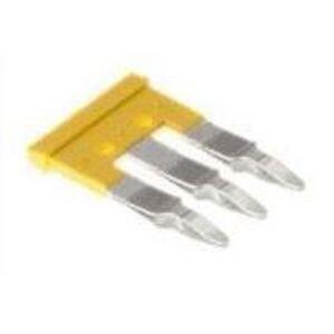 Weidmuller 1762630000 Terminal Block, Cross Connectors, Jumpers, 3P, 32A, Yellow