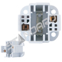 SOCKET 38132 CF 2PIN 26W VERTICAL