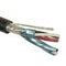 Omni Cable AF71608 Instrumentation Cable, 16 AWG, 8 Triads, Individual & Overall Shield, 600V