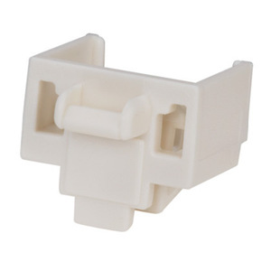 Panduit PSL-DCJB-IW Snap In, Connector, RJ 45 Jack Block-Out Device, White, Bag of 10