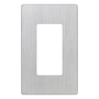 CW-1-SS 1GANG STAINLESS STEEL PLATE