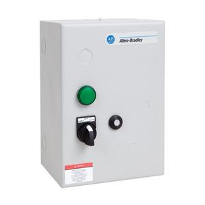 Allen-Bradley 509-COD-A2J Starter, Full Voltage, 120VAC Coil, Solid State Relay, NEMA Size 2