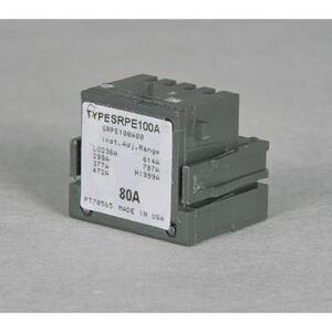 ABB SRPG400A225 Rating Plug, 225A, 600VAC, 680-2295 Trip Range, Spectra Series