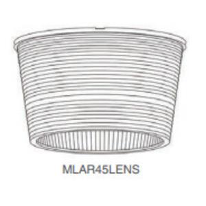 Maxlite MLAR45LENS Prismatic Lens