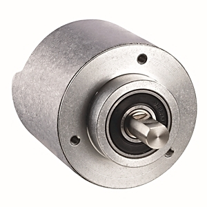 "Allen-Bradley 842E-SIP2BA Single-Turn Encoder, Solid Shaft, 3/8"" w/Flat, M12 Connector, 262,144 SPR"