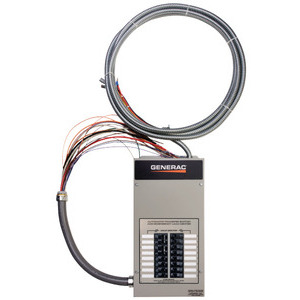 Generac RXG16EZA1  Transfer Switch W/ Integrated Load Center