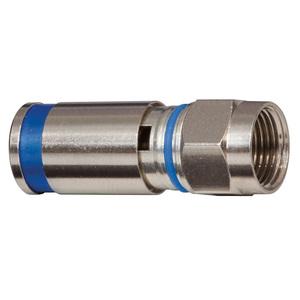 VDV812-624  COMP CONN F RG6/6Q MALE 50PK