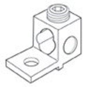 """Siemens H60162 Mechanical Lug, 1-Hole, #4 AWG to 600 MCM, ALCU, 1/2"""""""