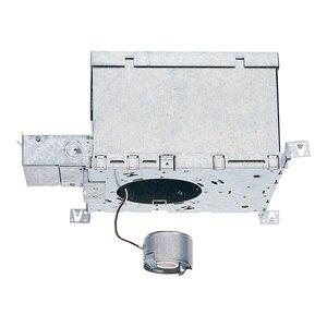 "Lightolier 1004ICXN IC Housing, Frame-in Kit, 5"", High Wattage, Airseal, Nail"