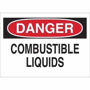 22318 CHEMICAL & HAZD MATERIALS SIGN