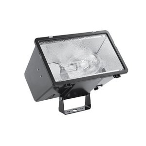 Hubbell-Outdoor Lighting MHS-Y250P8 FLDLGHT 250W PS QTAP WIDE YOKE W/LP BRZ