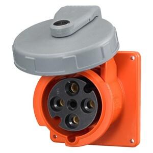 Hubbell-Wiring Kellems HBL460R12W PS, IEC, RECP, 3P4W, 60A 125/250V,4X/69K