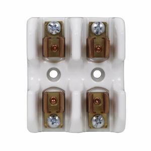 "Eaton/Bussmann Series 1976-2 Fuse Block, 9/16"" x 2"" Semiconductor Fuses, 2P, 0-30A 700V Ceramic"