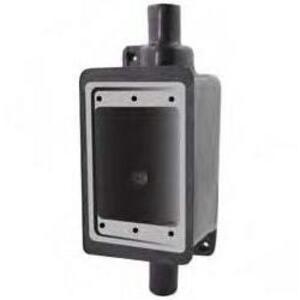 """Calbond PV0700FSC2 FSC Device Box, 1-Gang, 3/4"""", PVC Coated Steel"""