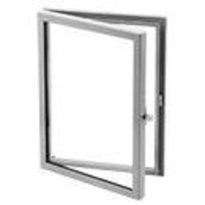 "Hoffman APWK2420H Window Kit, Hinged, NEMA 12, 24"" x 20"", Steel/Gray"