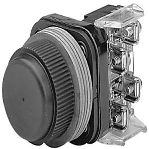 Allen-Bradley 800H-R7D1 30MM BOOTED PUSH