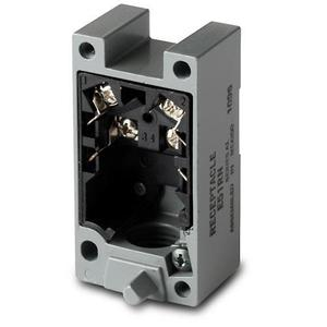Eaton E51RC Sensor, Receptacle, Photoelectric, Limit Switch Style, E51 Series