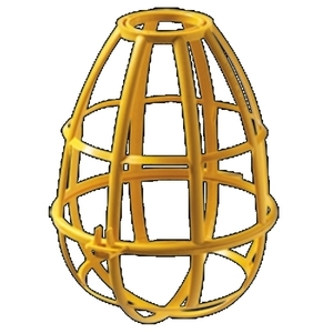 EPCO 16100 Safety Cage; Yellow