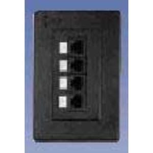 AX100352 4-PORT PS5E BIX DVO FLUSH WHITE