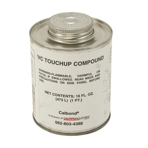 Calbond PV-TOUCHUP-GRAY-PT Gray Touch-Up Paint, Brush Top - 1 Pint Can