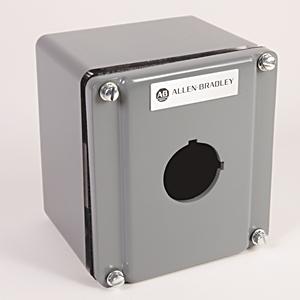 Allen-Bradley 800R-1TZ Enclosure, 1 Unit Control Station, Die Cast Aluminum, NEMA 4/13