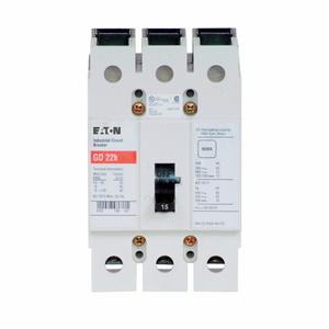Eaton GD3015S1 GD 3P 15A W/ST 120VAC