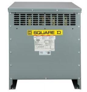 Square D EXN75T3H Transformer, Dry Type, 75kVA, 480? - 208Y/120 150C Rise, DOE 2016
