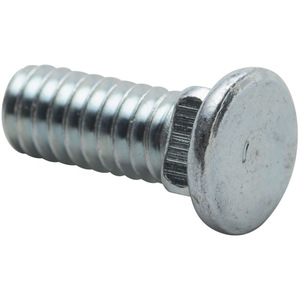 nVent Caddy S31199P100 Flat Head Carriage Bolt, Steel, 1/4""