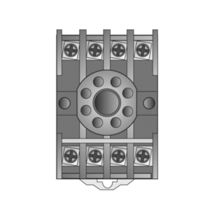 SSAC NDS-8 Din 8-pin Socket