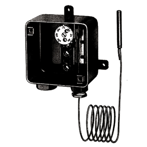 Easyheat C3RC Thermostat, Rainproof, Adjustable Temperature