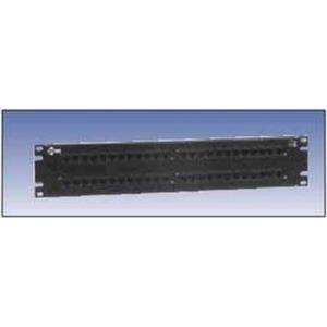 AX103261 48 PORT PS5 2U P/PANEL BLACK