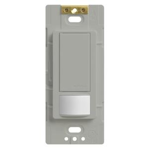 Lutron MS-OPS6M2-DV-GR Occupancy Sensor Switch Dimmer, 6A, Maestro, GR