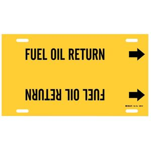 4064-G 4064-G FUEL OIL RETURN YEL/BLK ST