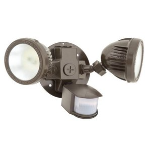 Hubbell-Outdoor Lighting ML-2L3K-1-WH Security Floodlight Set
