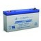 Power-Sonic PS-612 Rechargeable Sealed Lead Acid Battery, 6V, 1.2Ah