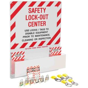 Brady 3001 Safety Lockout Center for Mechanical Risk Lockouts