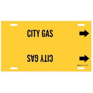 4027-F B915 STYLE F  BLK/YEL  CITY GAS