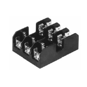 Eaton/Bussmann Series BC6033P Fuseblock, Class CC, 3-Pole, 30A, 600V, Pressure Plate Terminal *** Discontinued ***