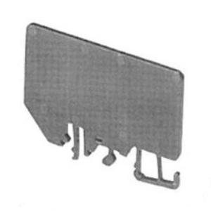Allen-Bradley 1492-N37 Terminal Block, End Barrier, High Density, Gray