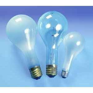 SYLVANIA 200PS/23-130V Incandescent Bulb, Rough Service, PS30, 200W, 130V, Frosted